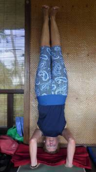 Headstand!