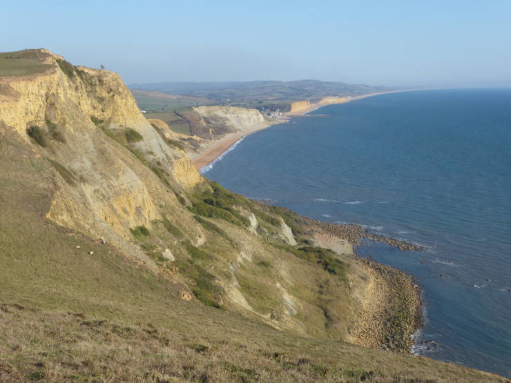 Dorset Coast at Eype