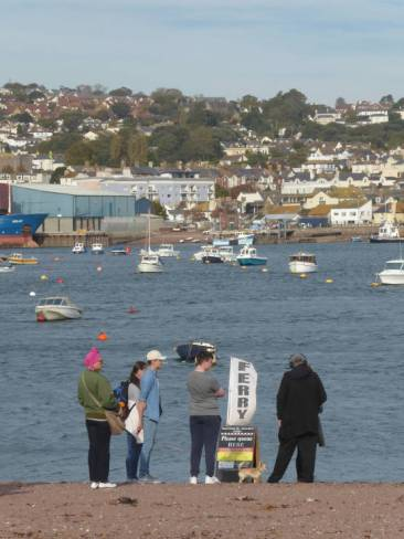Waiting for the Ferry at Shaldon