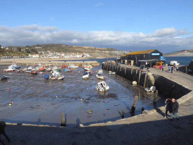 The Cob at Lyme Regis