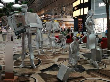 Art Installation at Changi Airport