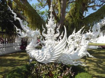 Dragon at the White Temple