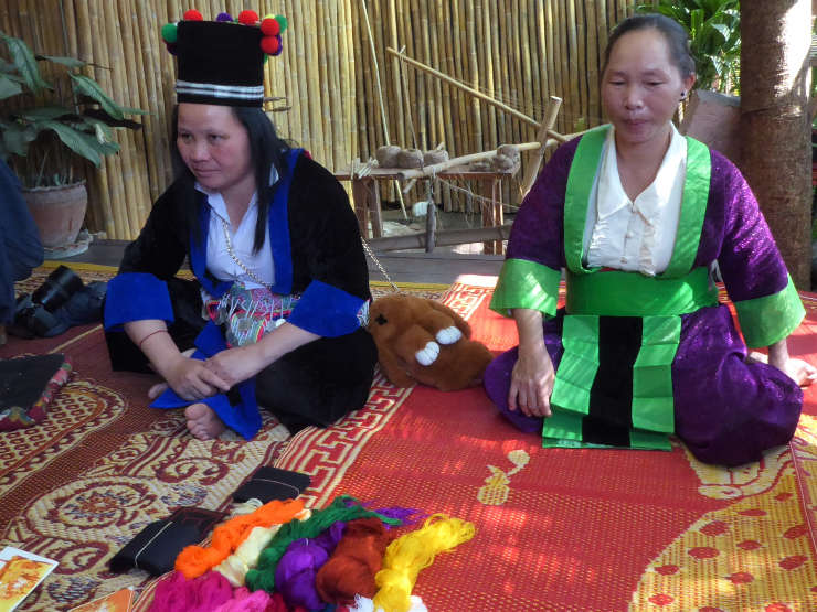 Ready to teach Hmong embroidery