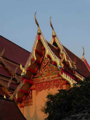 Roof of Wat Luang