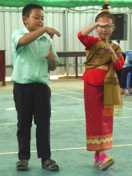 A couple of young dancers