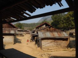 The Khmu village