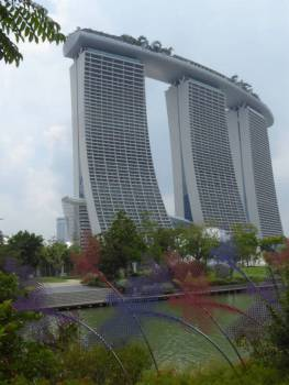 A different perspective of Marina Sands