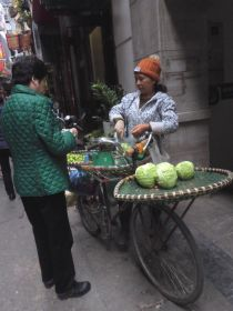 Cabbage seller