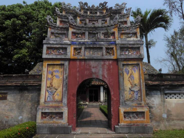 Gate at the Imperial City