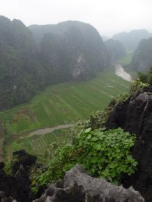 Looking towards Tam Coc