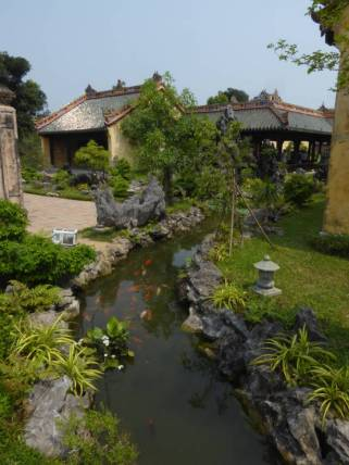 One of the gardens at the Imperial City