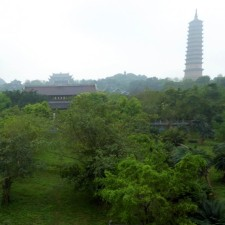 Pagoda, temples and gardens at Bai Dinh