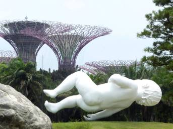 Sculpture in Gardens by the Bay