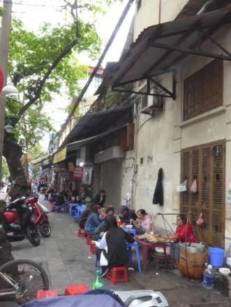 Typical Hanoi street