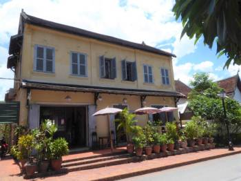 Restaurant in old Colonial house