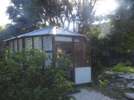 My Summerhouse in the early morning